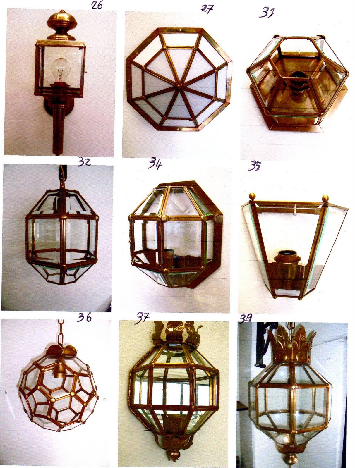 Ditta brogani maurizio lavori in ferro battuto e restauri in ferro ottone ghisa e alpacca - Lampadari da interno ...