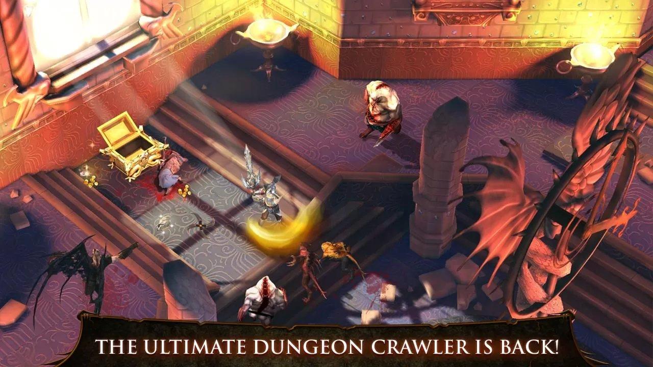 Dungeon Hunter 4 v1.4.0 APK-DATA MOD Unlimited-Gold-Gems