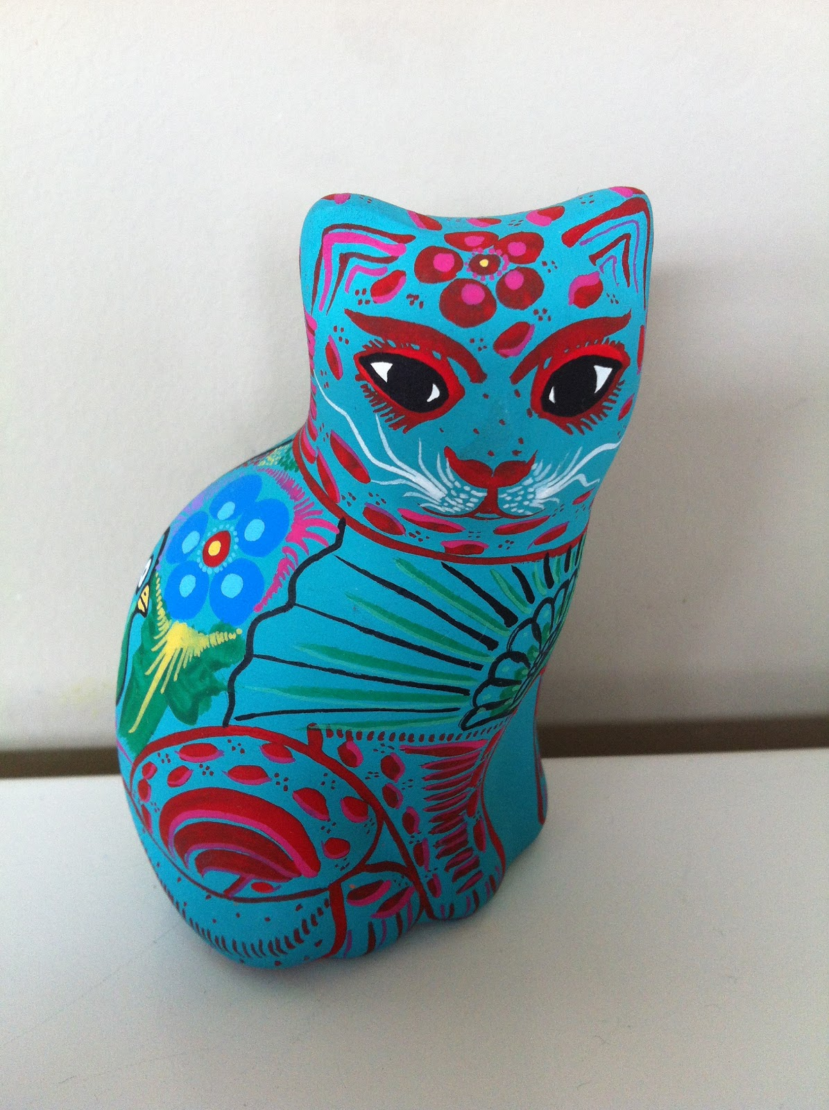 Mexican Boxing Art Mexican Folk Art Cat
