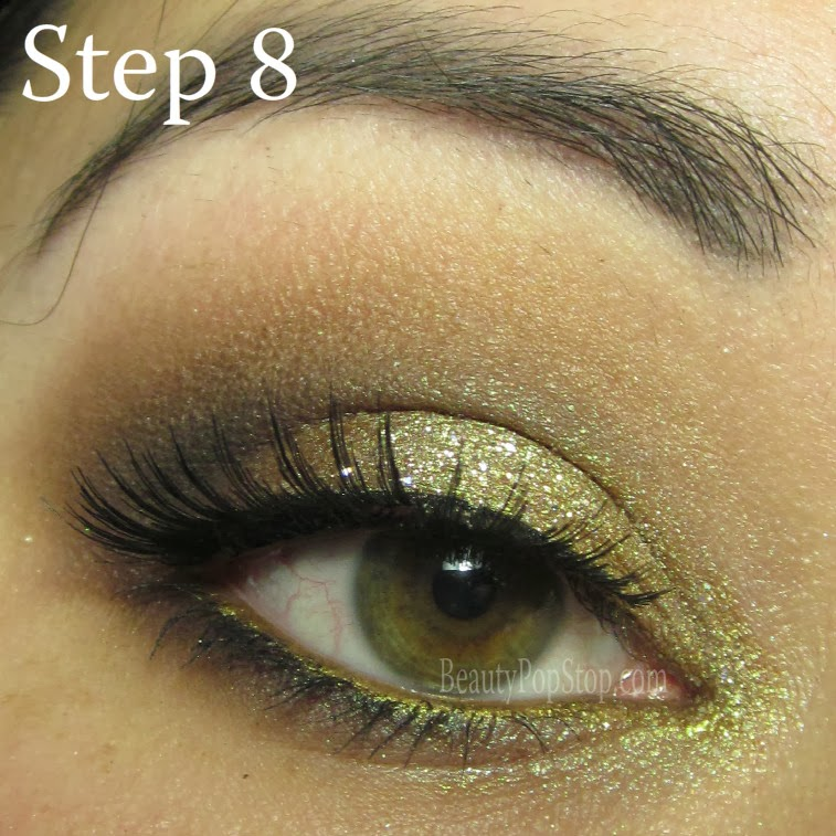 valentine's day makeup tutorial using lit cosmetics champagne wishes glitter