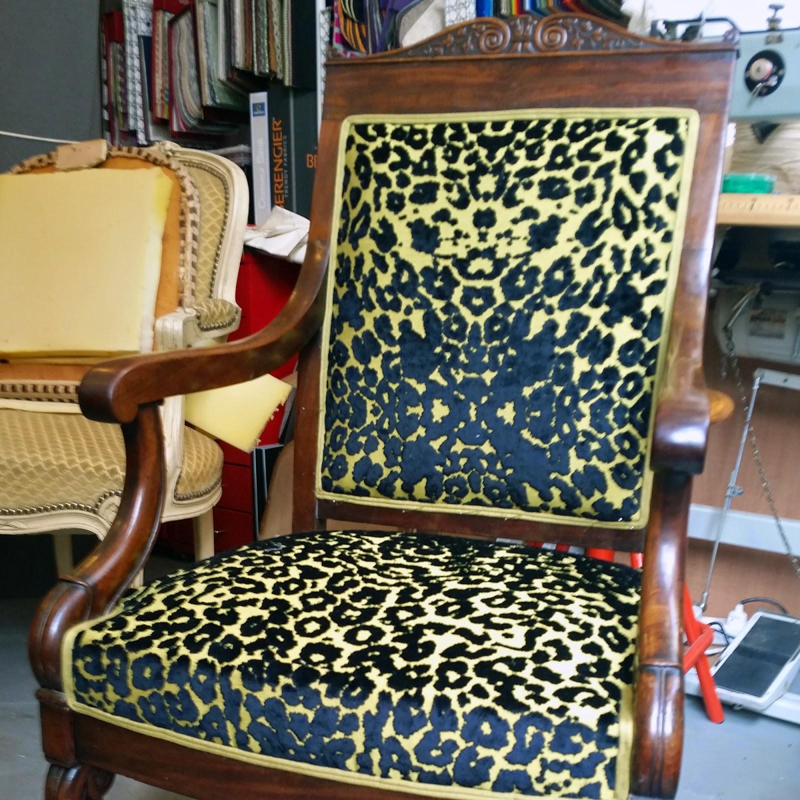 avant aprs fauteuil napolon iii atelier velvet artisan tapissier paris 10e - Fauteuil Napoleon 3