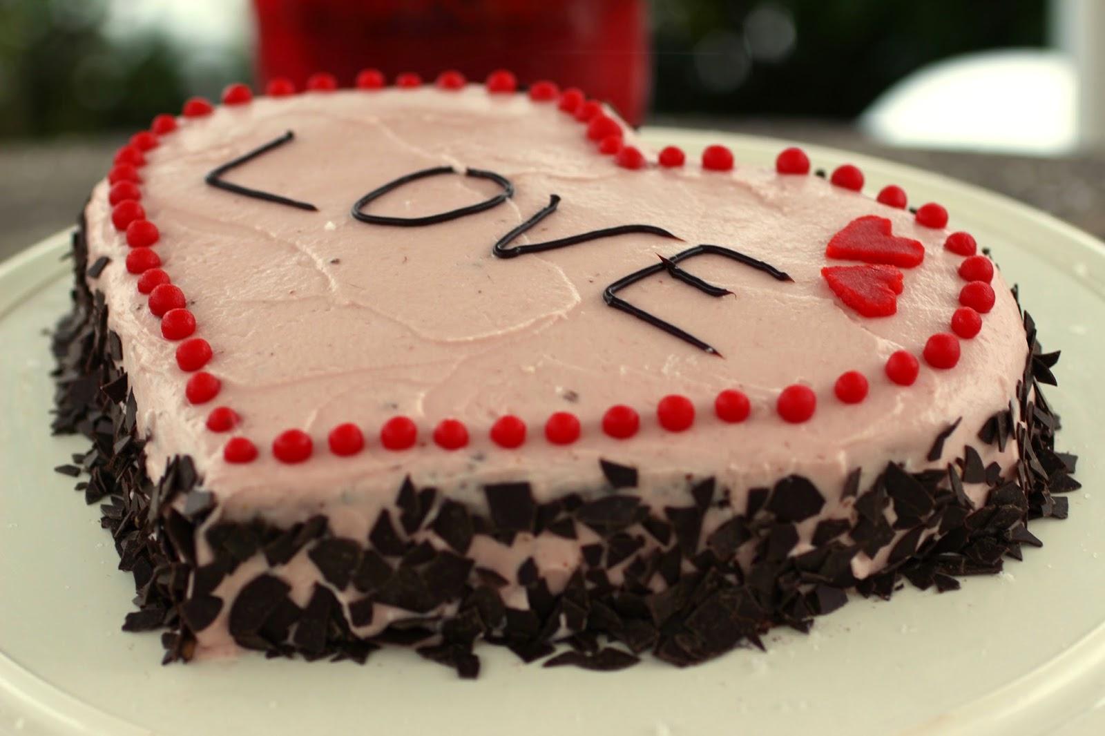 A Healthy Love Saftiger Schokotraum In Herzform Eine Perfekte