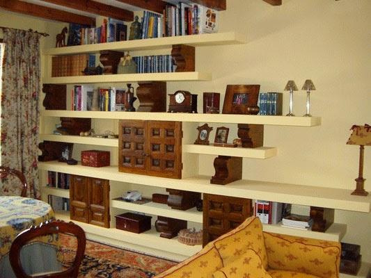 Librer as a medida en madrid muebles de madera fabritecma - Librerias estanterias modernas ...