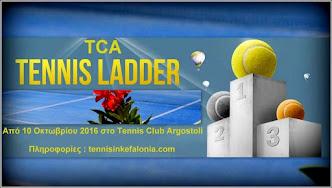 Τένις:''Ladder 2016''