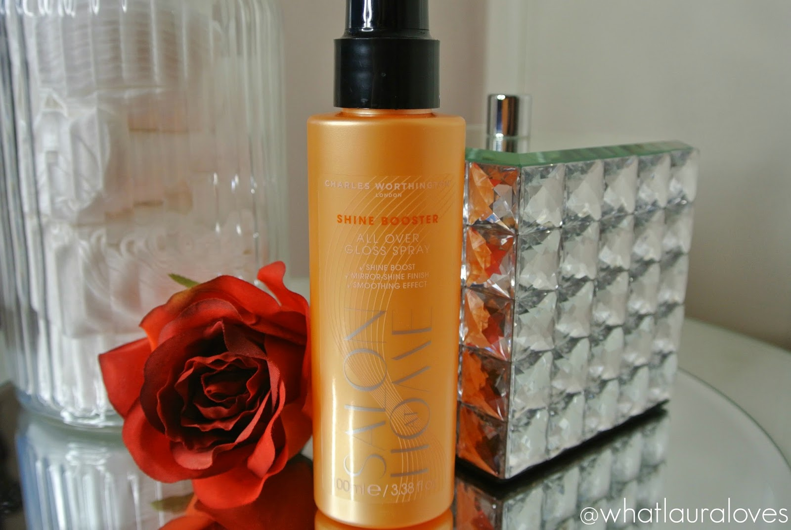 Charles Worthington Shine Booster All Over Gloss Spray Review Shiny Healthy Hair