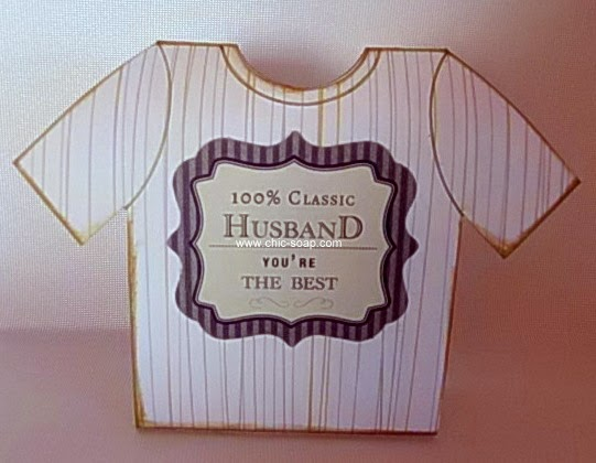 Foto envoltorio camiseta temática masculina