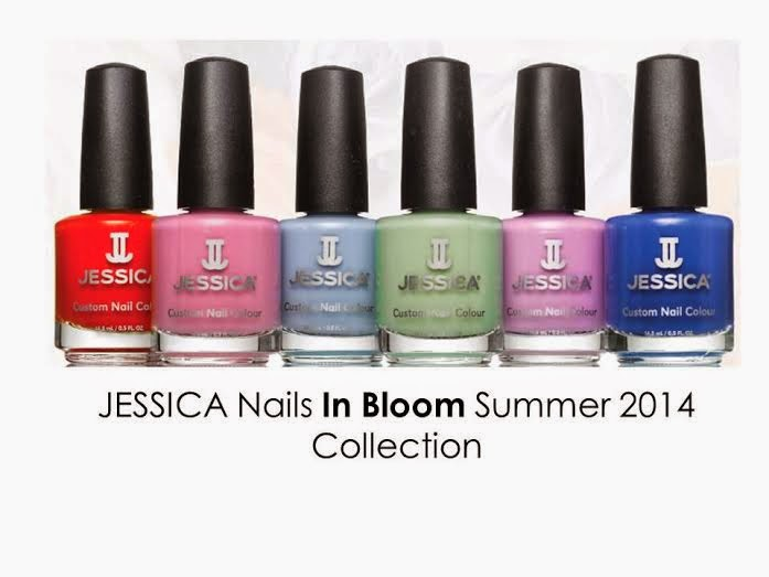 NailsByNumbers: Jessica Nails In Bloom! Launch and Swatches