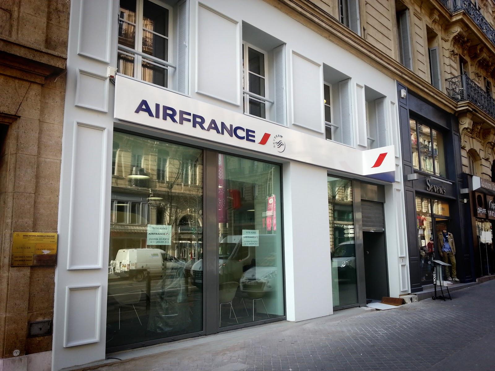 D U00e9sabuzz U00e9  L U0026 39 Agence D U0026 39 Air France Marseille D U00e9m U00e9nage Au 3  Rue De La R U00e9publique