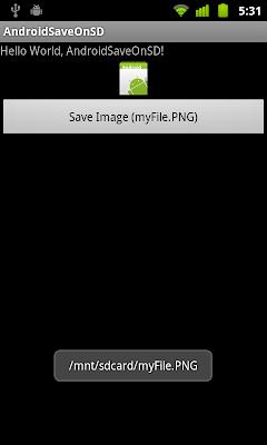 儲存圖像到 SD Card 中