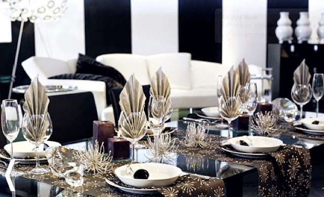 Happy new year 2016 celebration home decoration - New year table decorations ...