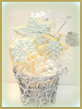 Winterland Cookie Basket