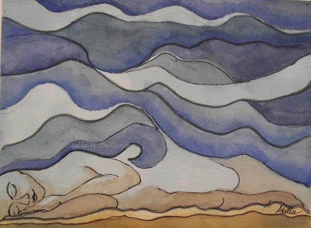 Dream Under a Desert Sky by Stella de Genova