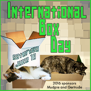 International Box Day is 6/18!