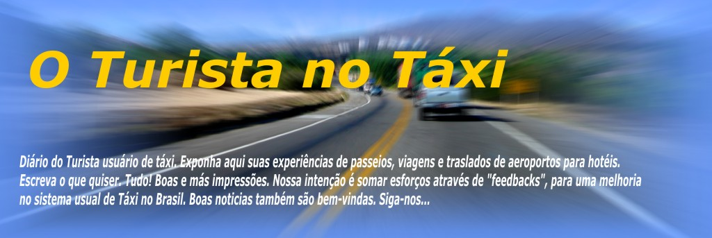 O Turista no Táxi