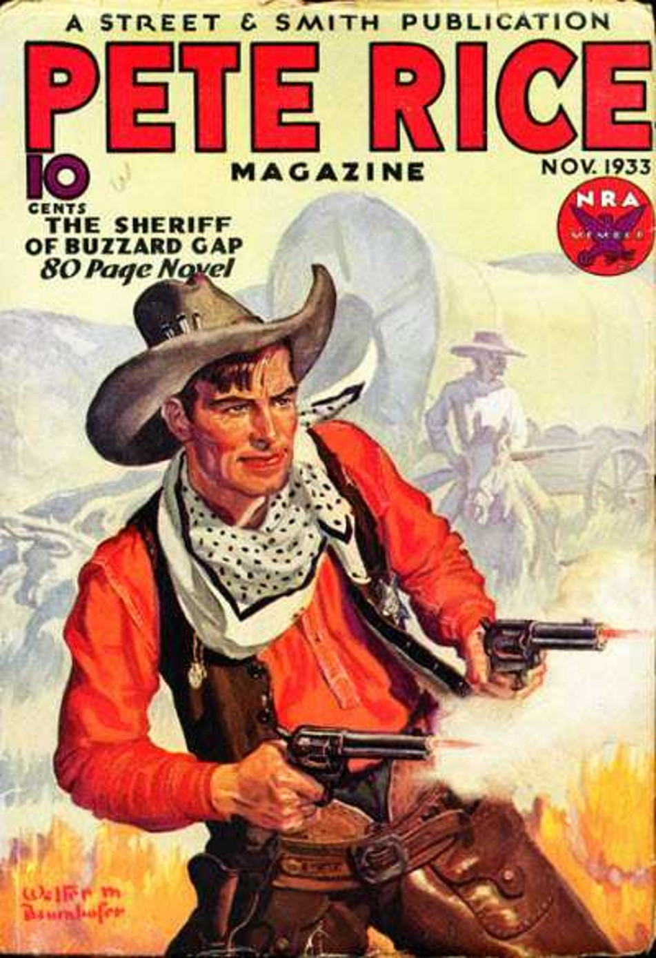 Rough Edges Saturday Morning Western Pulp Pete Rice Magazine November