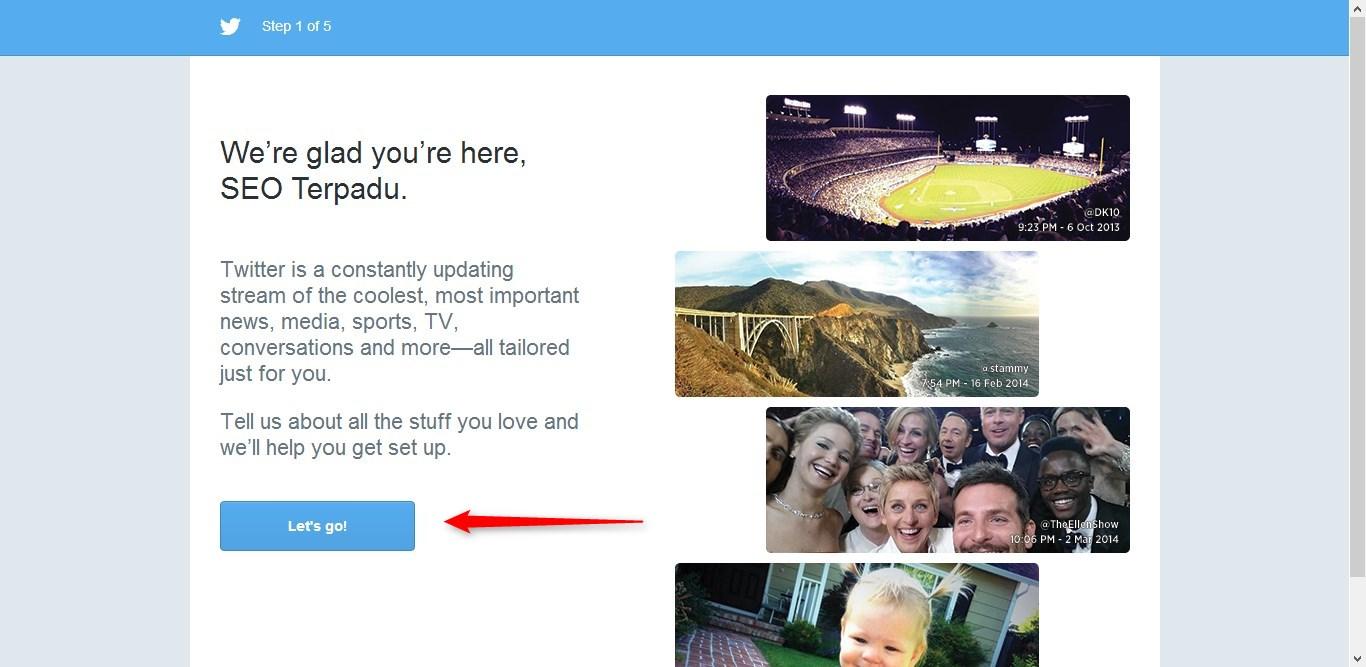Cara Membuat Twitter 3