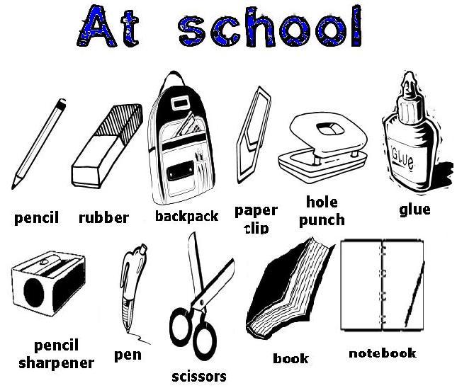 Fabuloso Objetos escolares em inglês - Let's go online shopping!! - 6º Anos  CL84