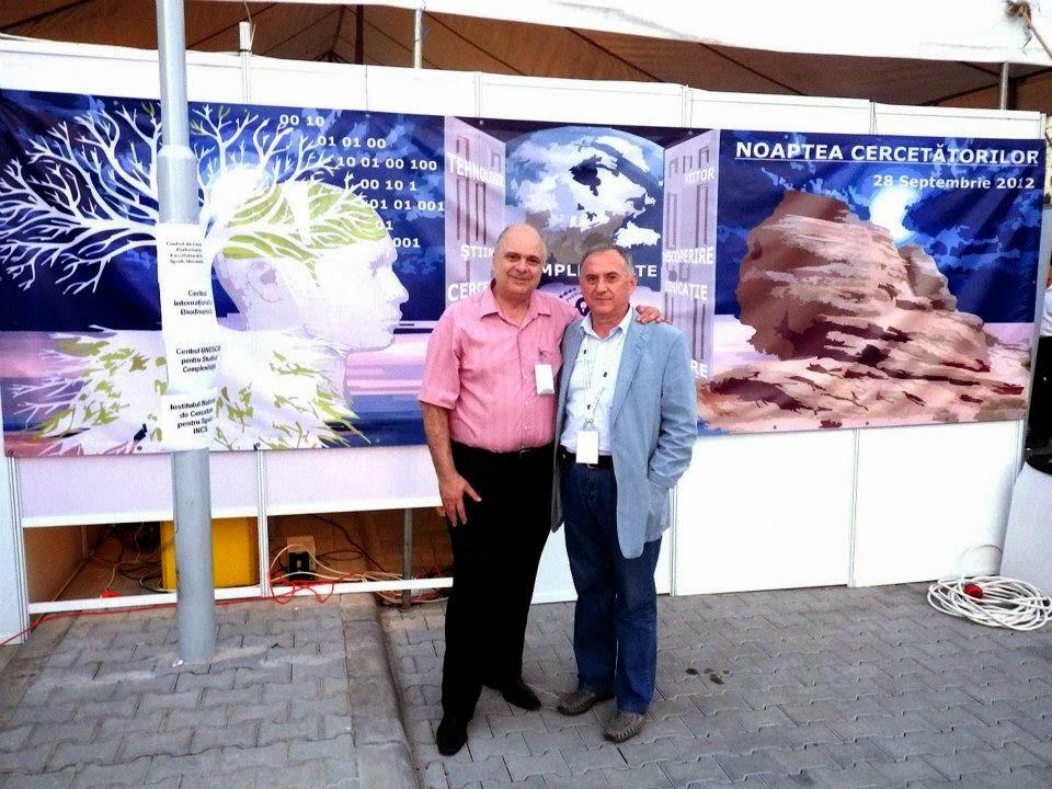 Prof.dr.Florin Munteanu si Leon Zagrean