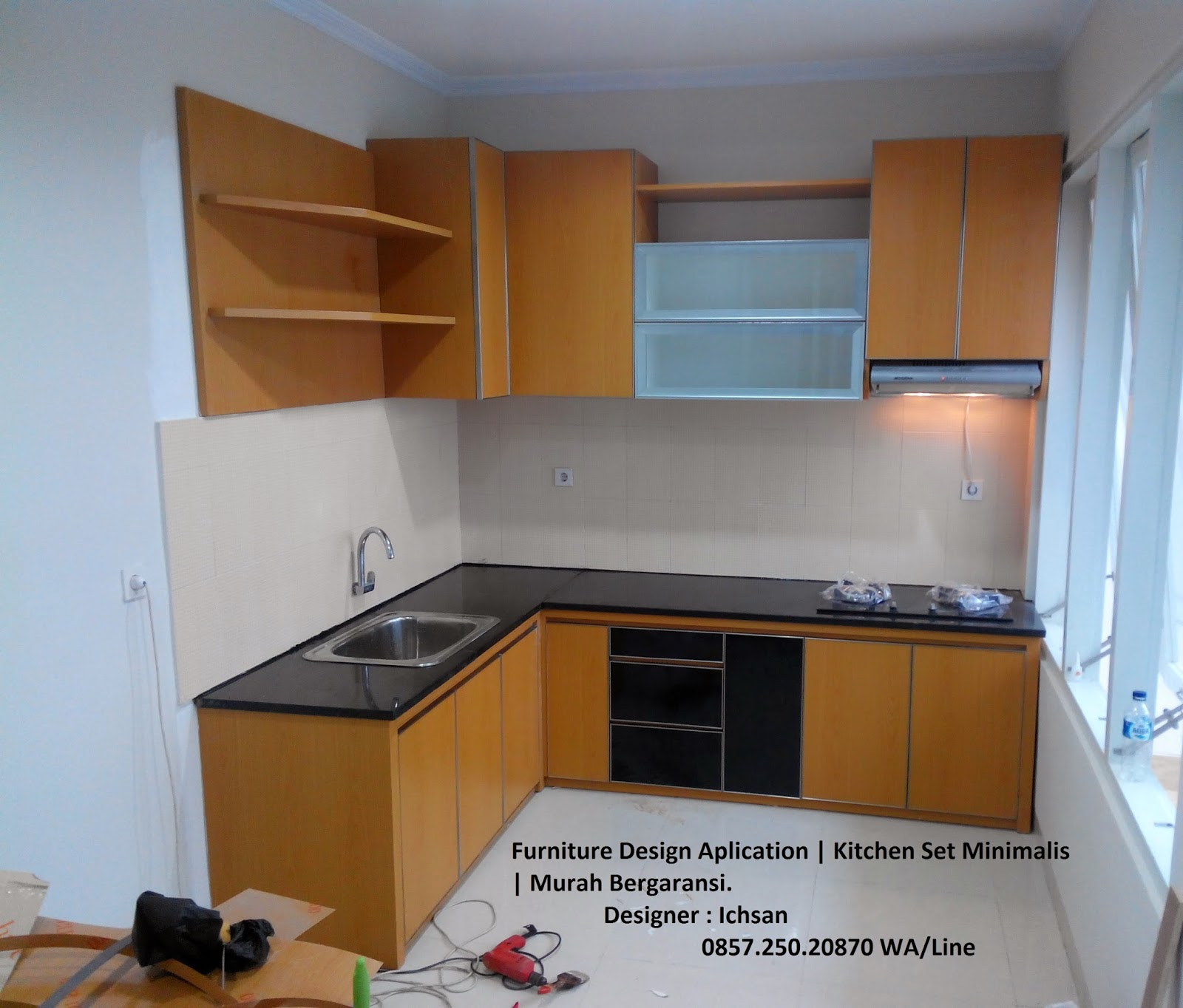 Jasa Kitchenset Solo Kitchen Set Minimalis Murah Klaten