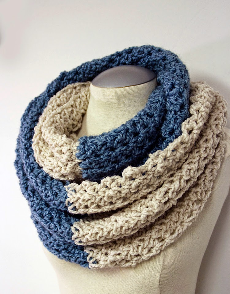 Pretty Darn Adorable Crochet: FREE CROCHET NECK WARMER PATTERN