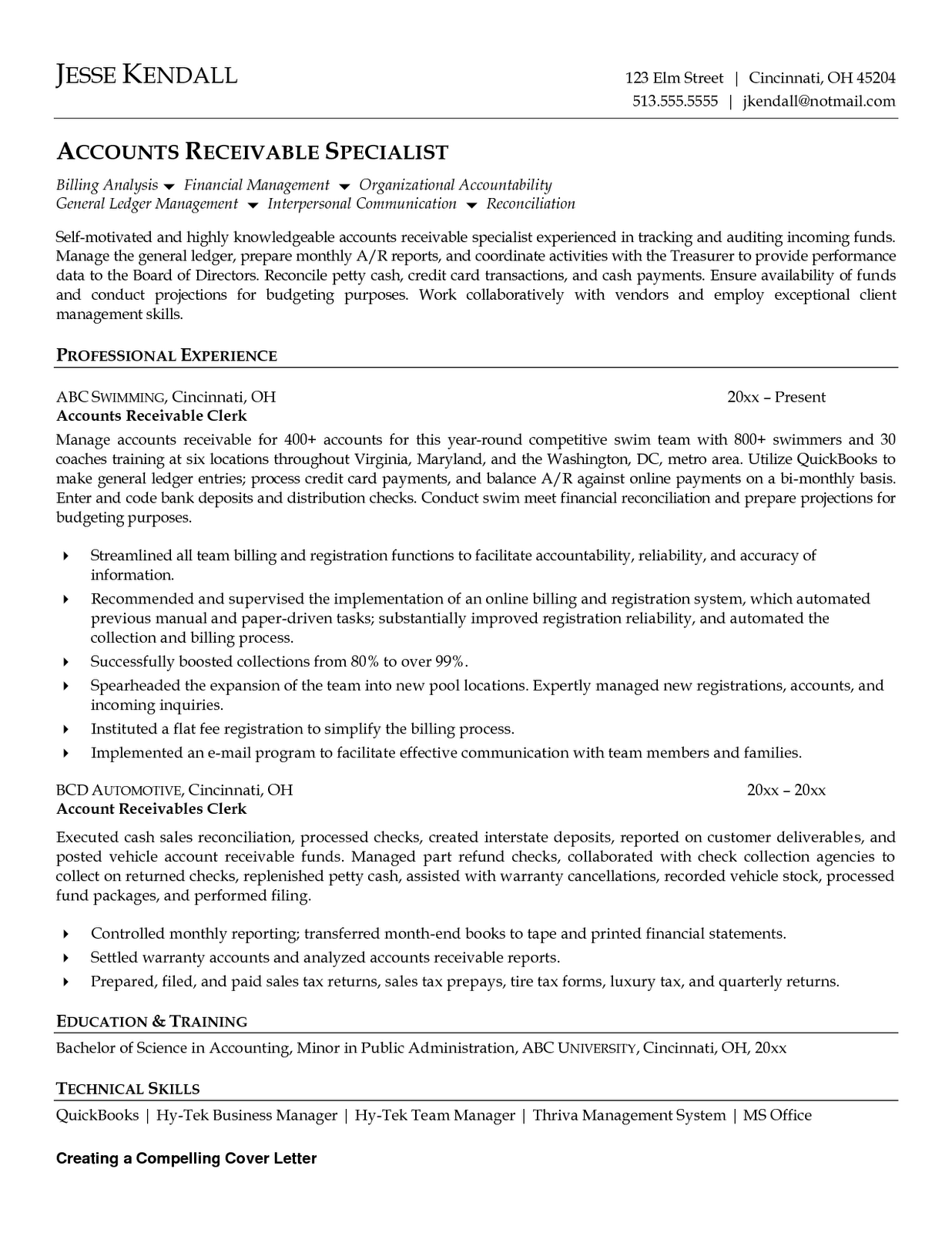 Lifeclever resume