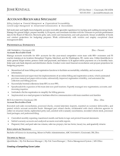 purchase ledger assistant cover letter stonewall services