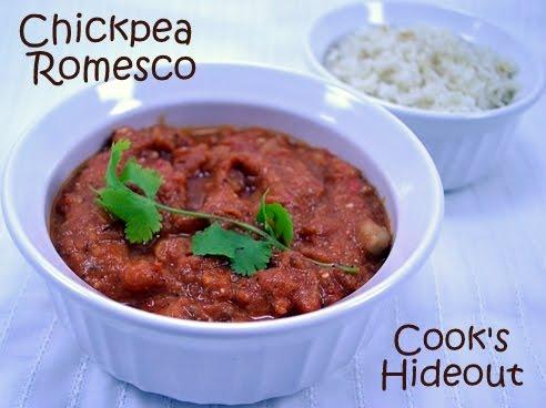 Chickpea Romesco