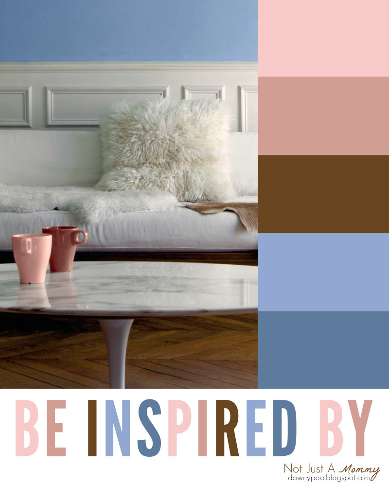 Be inspired by the party palette combo of Rose Quartz and Serenity