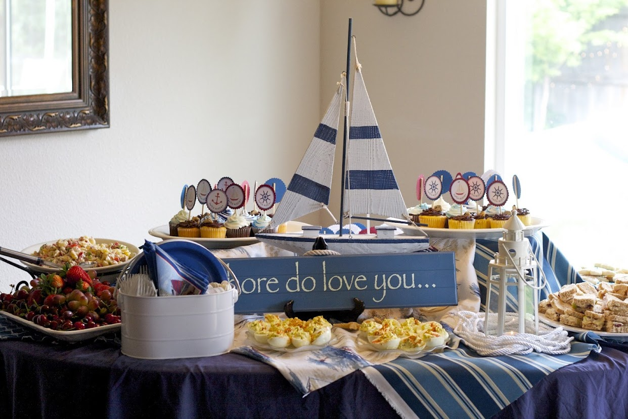 nautical baby shower decorations best baby decoration