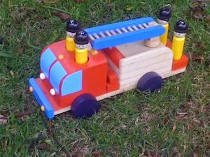 caminhão bombeiro