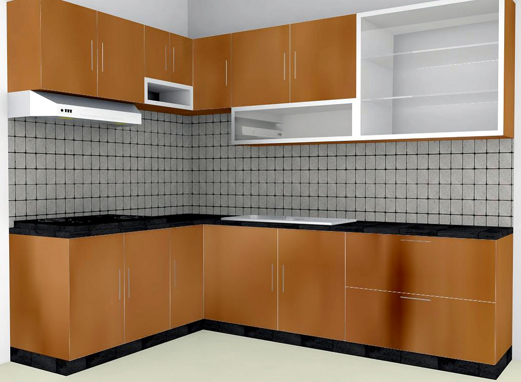Desain kitchen set dapur minimalis ideal for Kitchen set bekas