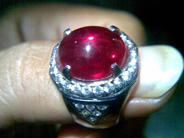 Cincin Ruby Ikat Monel