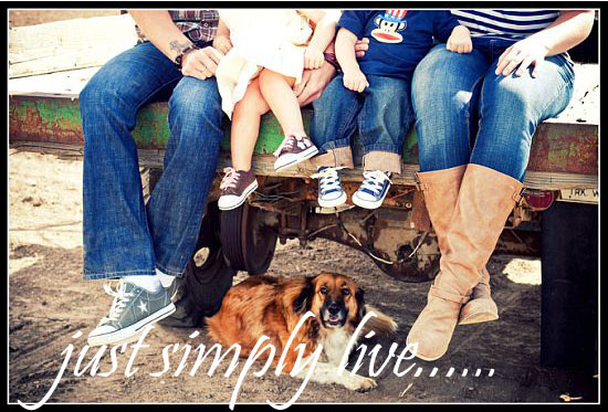 Just simply live...