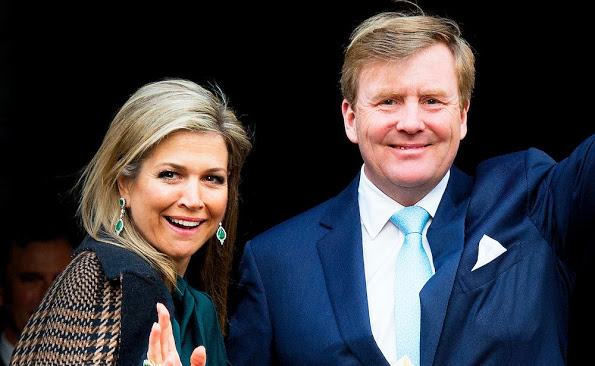 Dutch Royals Attended The New Year Reception 2016