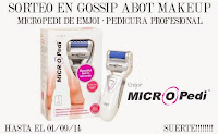"Sorteo en el blog ""Gossip About Makeup"""