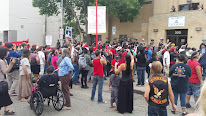 'Free Olowan!' Rally at Morton County Jail