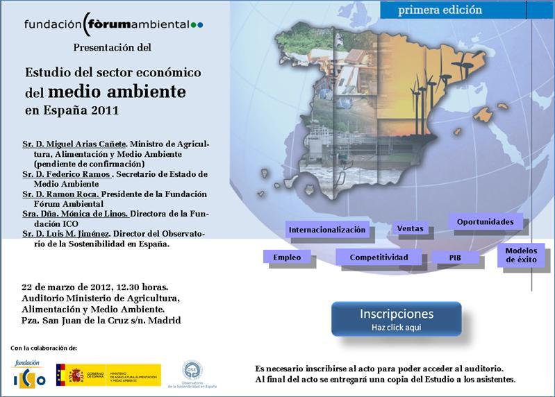 Oficina para la sostenibilidad uca estudio del sector for Oficina medio ambiente