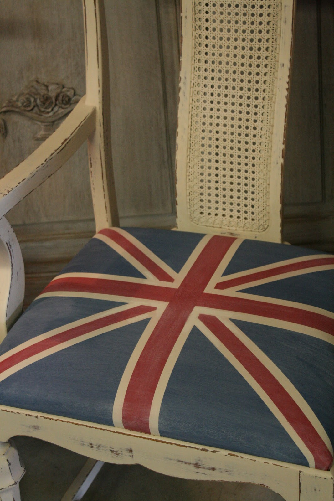 Reloved Rubbish Pair of Union Jack Chairs