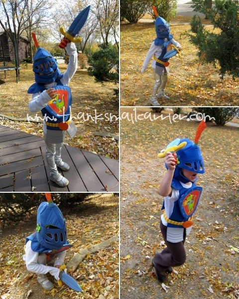 HABA knight costume