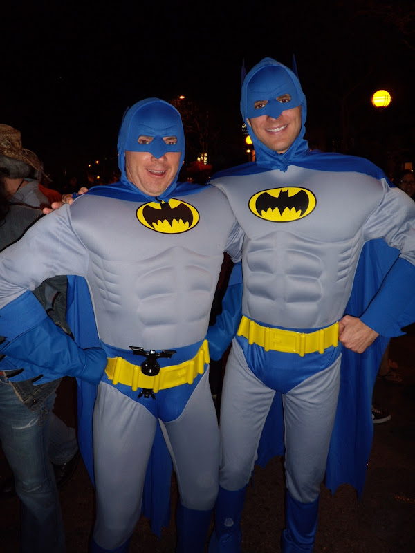 West Hollywood Halloween Batmen 2009