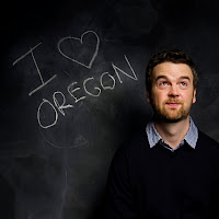Peter D. Richardson -- 'I love Oregon'