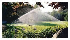 High-tech Water Sprinklers