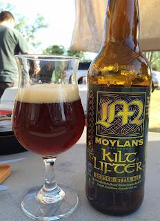 Moylans Kilt Lifter Scotch Ale 1