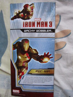 Tony Stark, James Rhodes, Iron Man, Warmachine, Wacky Wobbler, Bobble Head, Avengers, Marvel, comics, movie