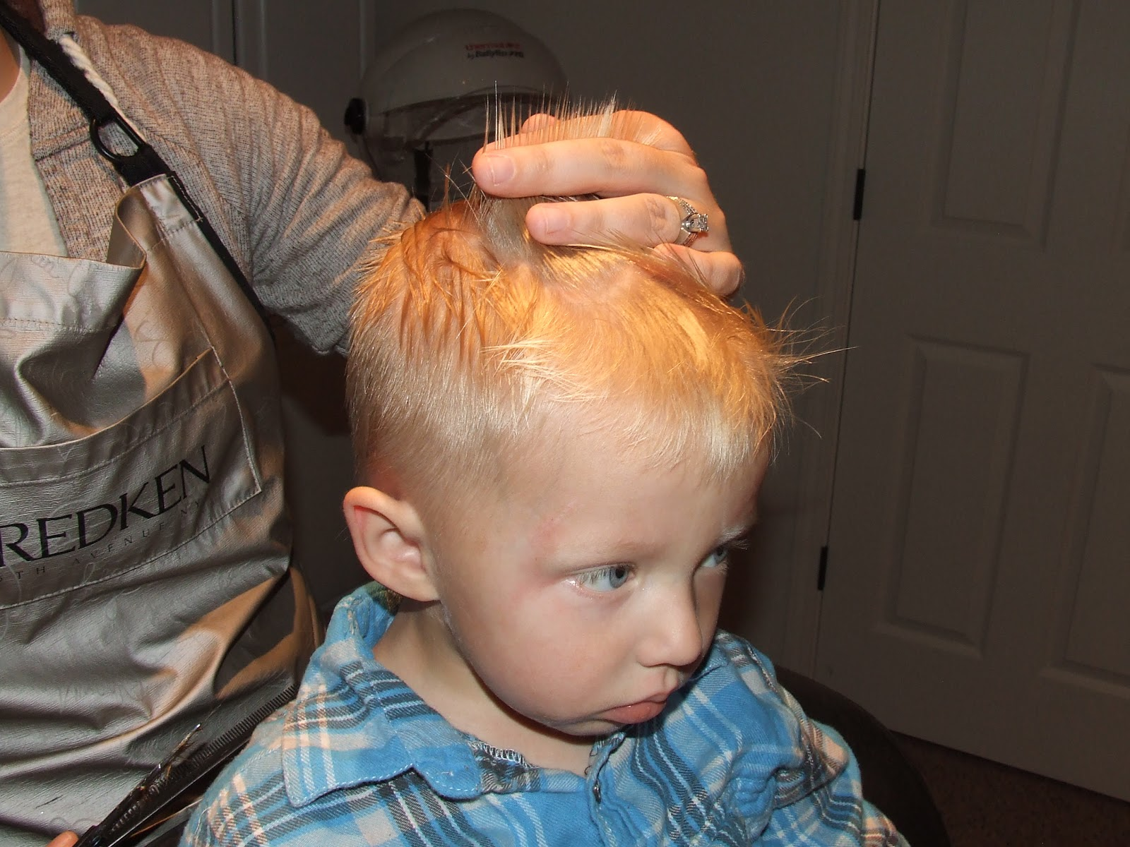 How to Cut Hair Little Boy