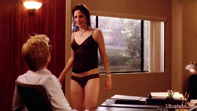 matthew modine watching at mary-louise parker's wet naked body