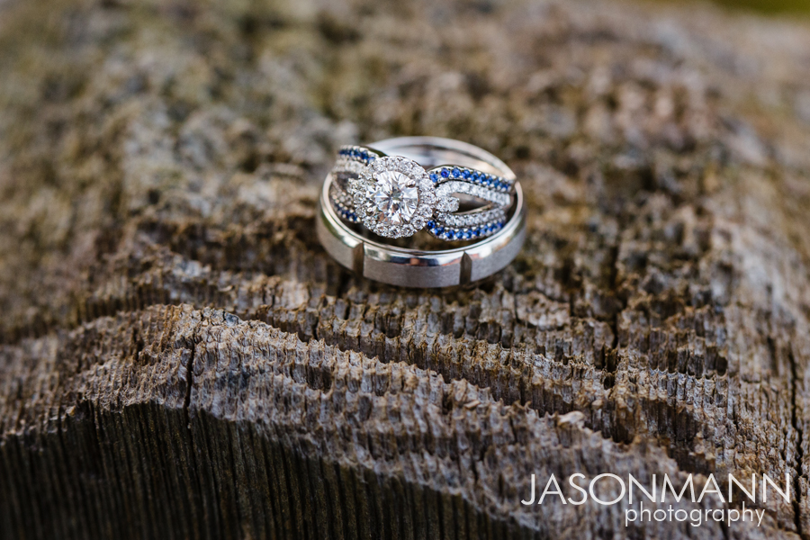 Jason Mann Photography - Door County Wedding Rings