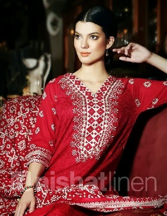 Nishat Linen Pret Summer Collection 2014