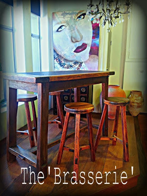 Custom Made Bar Bench High Bench Table and Stools Brisbane