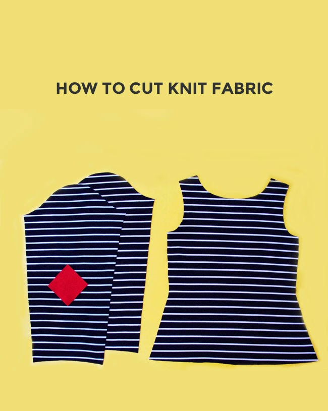 Tilly and the Buttons: How to Cut Knit Fabric